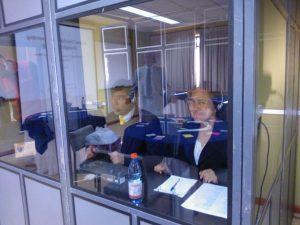 Cabina para interpretes simultaneos en Chile